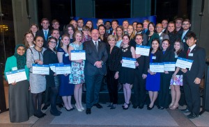 Myself and the 39 other New Colombo Plan Scholars with Governor-General Peter Cosgrove and Julie Bishop MP.